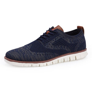Casual Comfortable Lace Up Lightweight Knitted Mesh Breathable Shoes(Buy 2 Get 10% off, 3 Get 15% off )