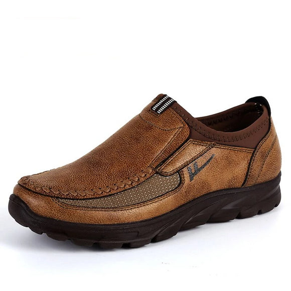 Men's Shoes - Casual Quality Leather Loafers Slip-on Shoes(Buy 2 Get 10% off, 3 Get 15% off )