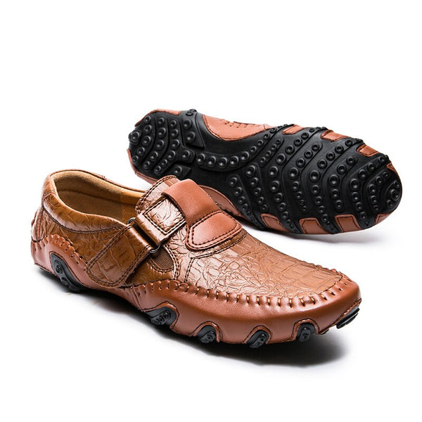 Shoes - Luxury Brand Driving Handmade Leather Men Casual Shoes(BUY ONE GET ONE 20% OFF)
