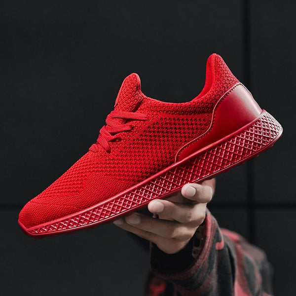 Men's Shoes - Fly Weave Casual Outdoor Walking Tennis Sneakers