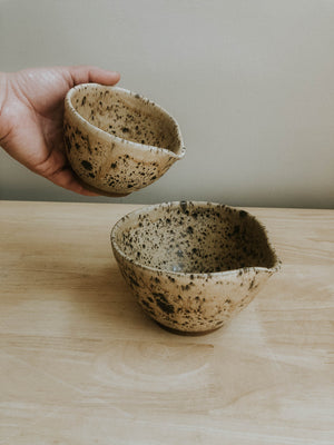 Two Piece Mixing Bowl set- Split Rock