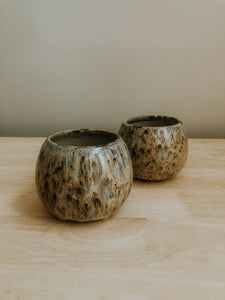 Set of two Round Cabin Cups - Shovel Point