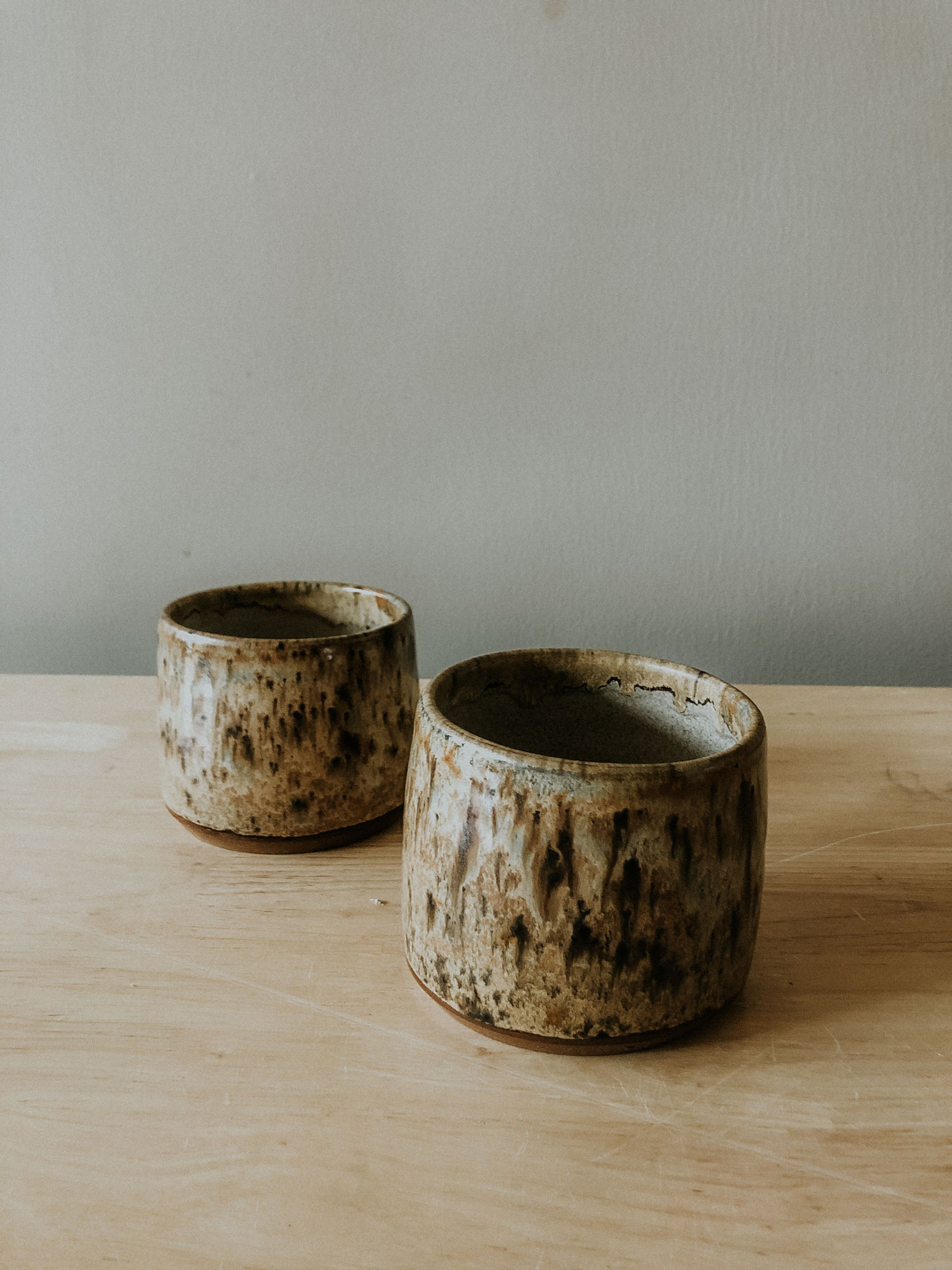 Set of two short tumblers - Shovel Point