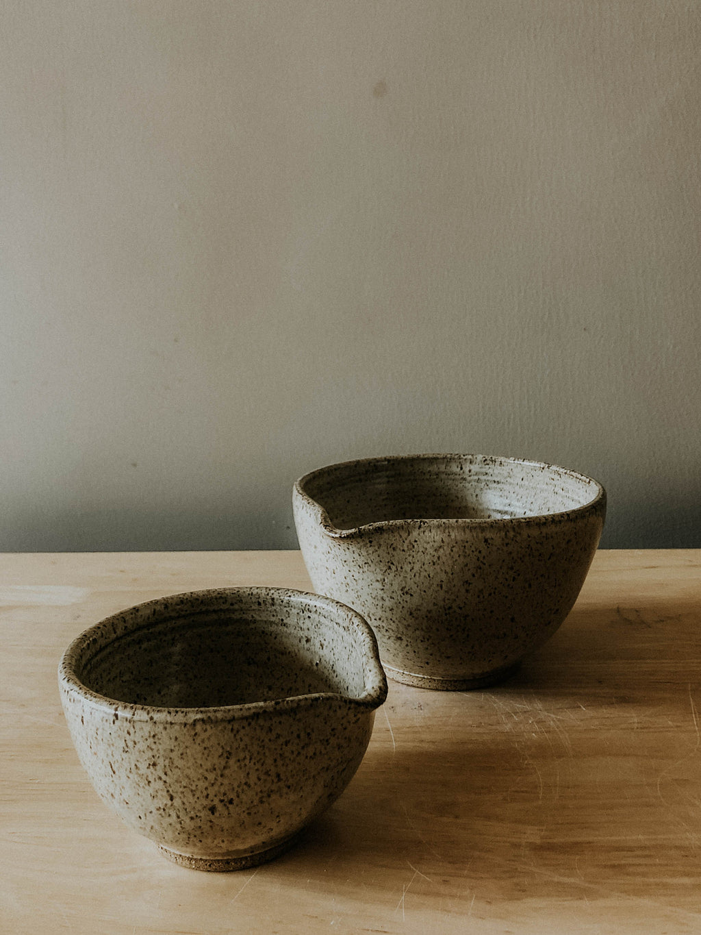 Two Piece Mixing Bowl set- Boreal