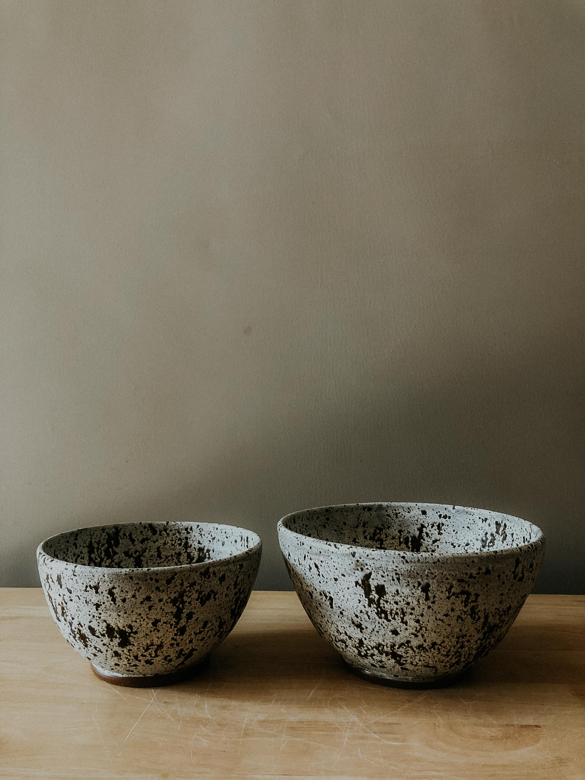 Large Two Piece Nesting Bowls - Birch Lake
