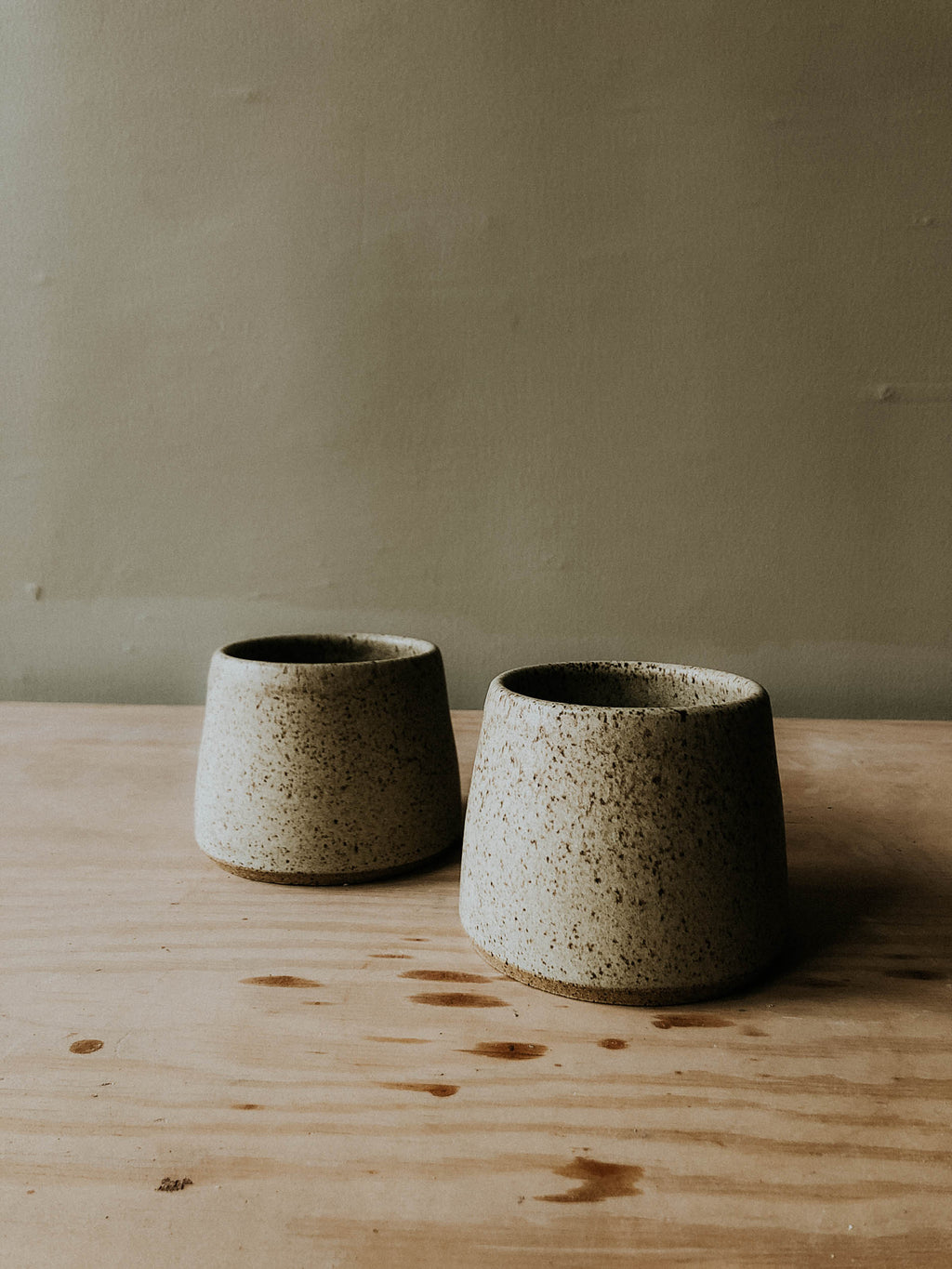 *Set of Two* Short Tavern Cups - Howl