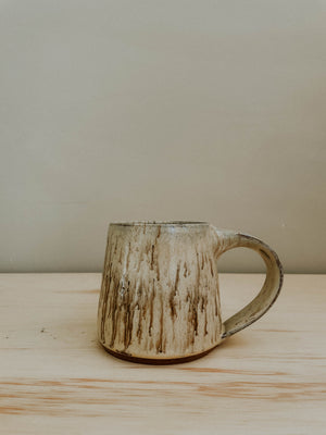 Tavern Mug - Satin Cream Swirl