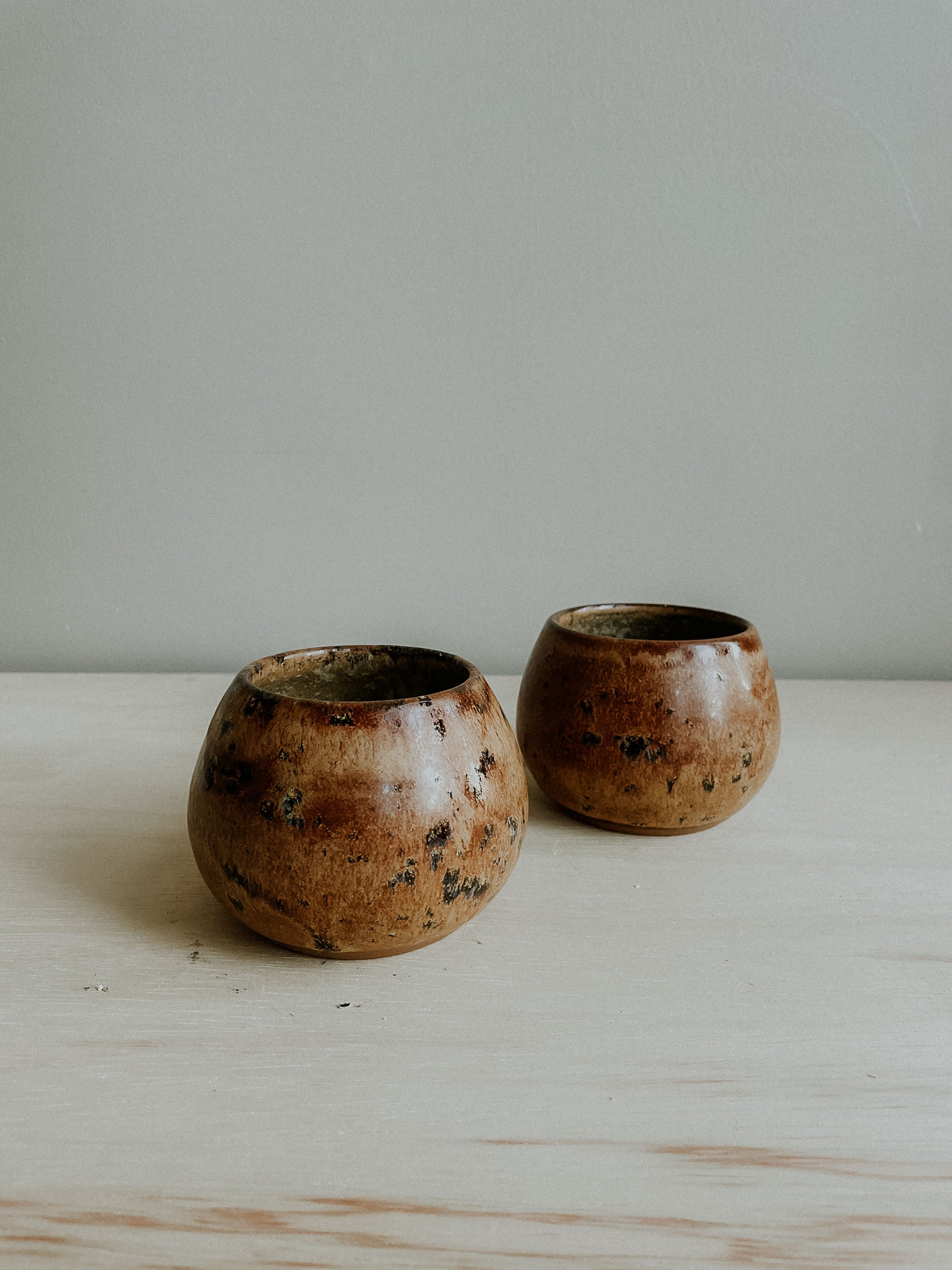 Shorty Round Cups *Set of Two* - Aurora