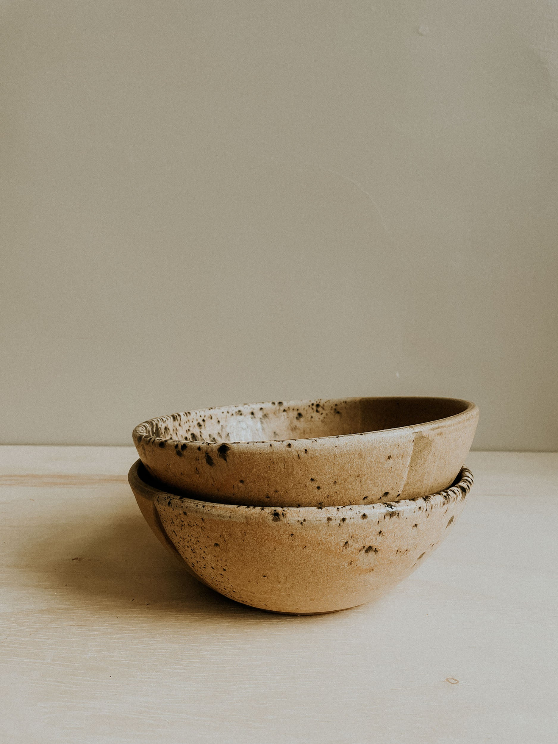 Set of two Pasta Bowls - Split Rock x Finch