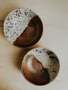 Set of two Pasta Bowls - Birch Lake x Copper