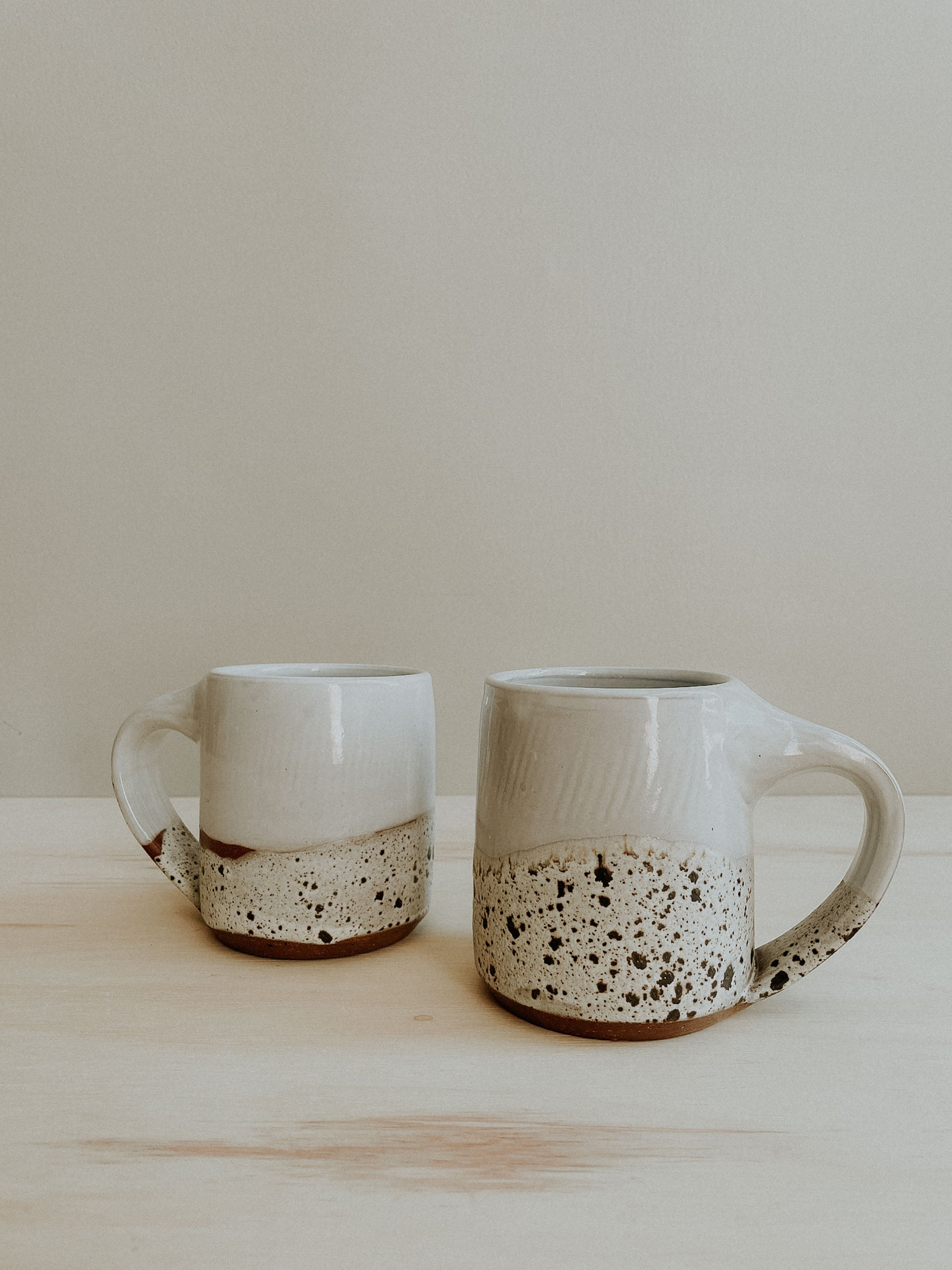 Cabin Mug - White Gloss x Birch Lake