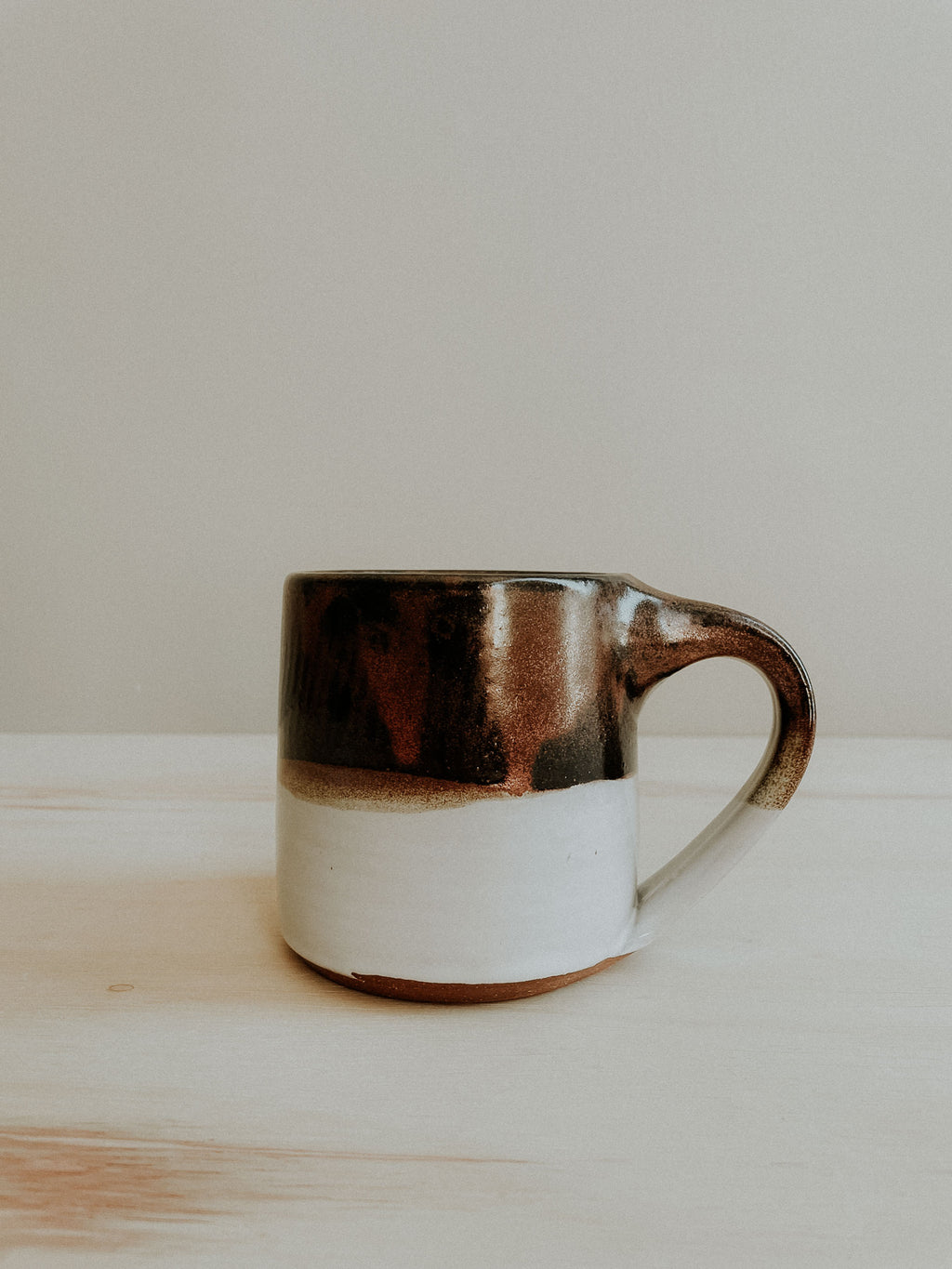Cabin Mug - Copper x White Gloss