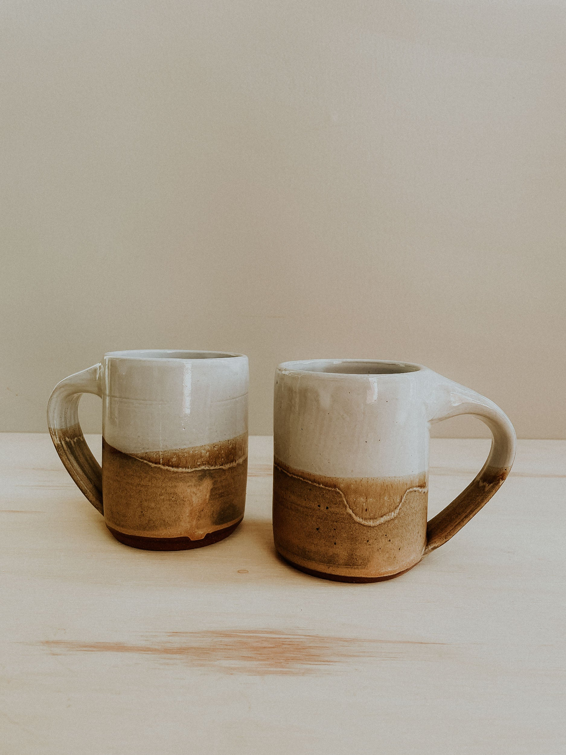 Middle Mug - White Gloss x Finch