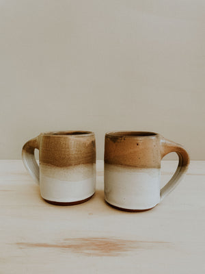 Middle Mug - Finch x White Gloss