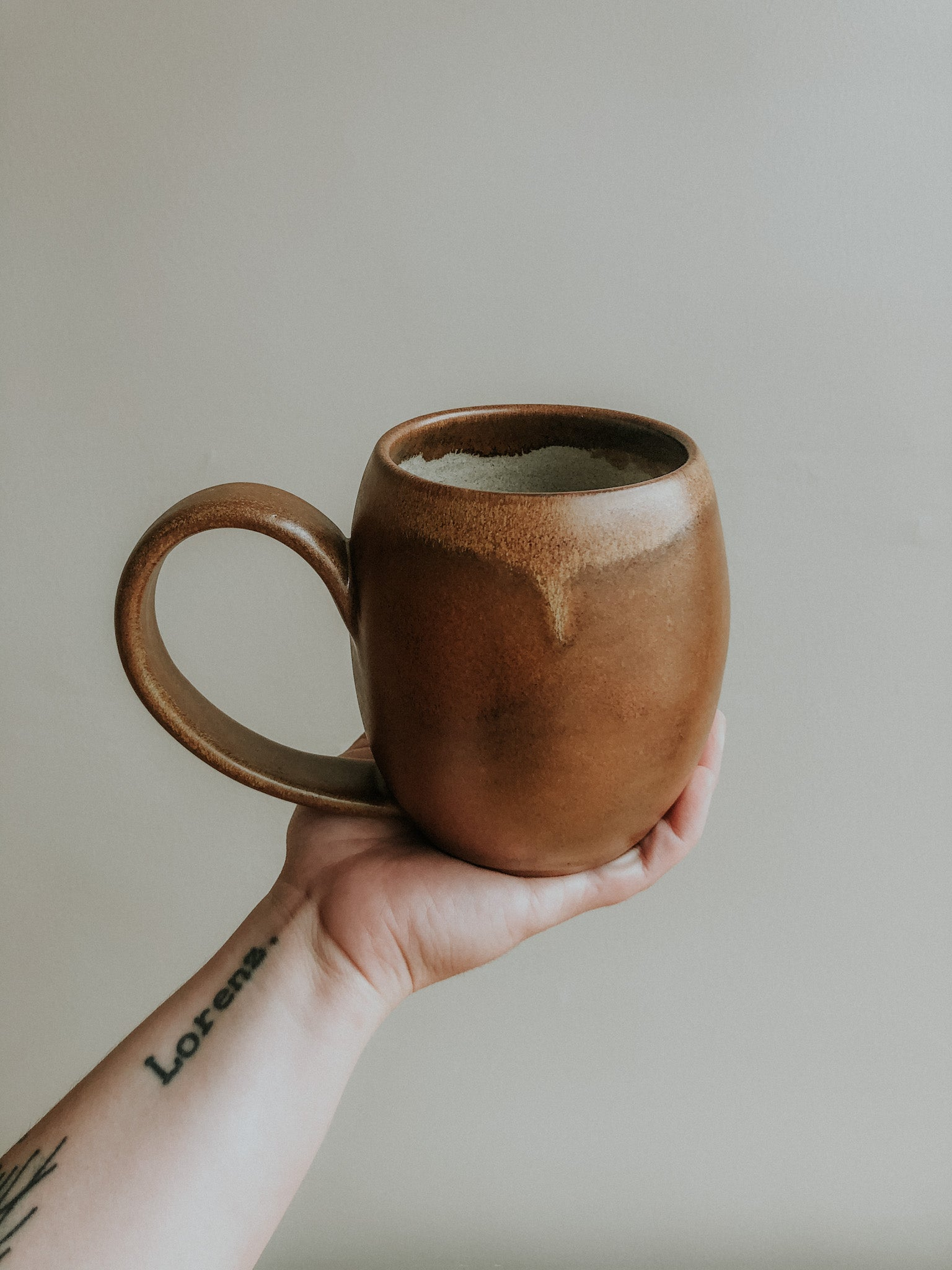 Extra Tall Rounded Mug - Copper