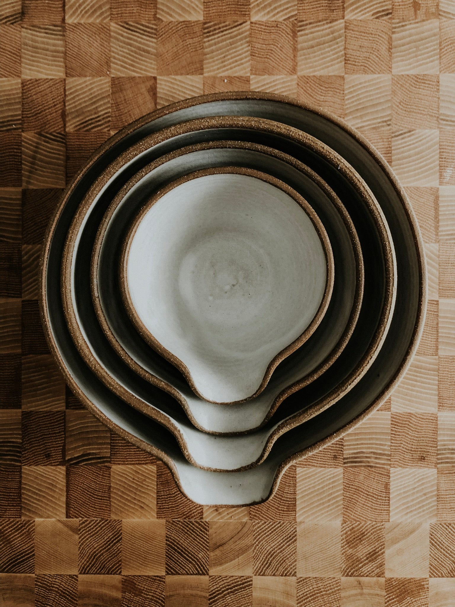 Four Piece Mixing Bowl Set