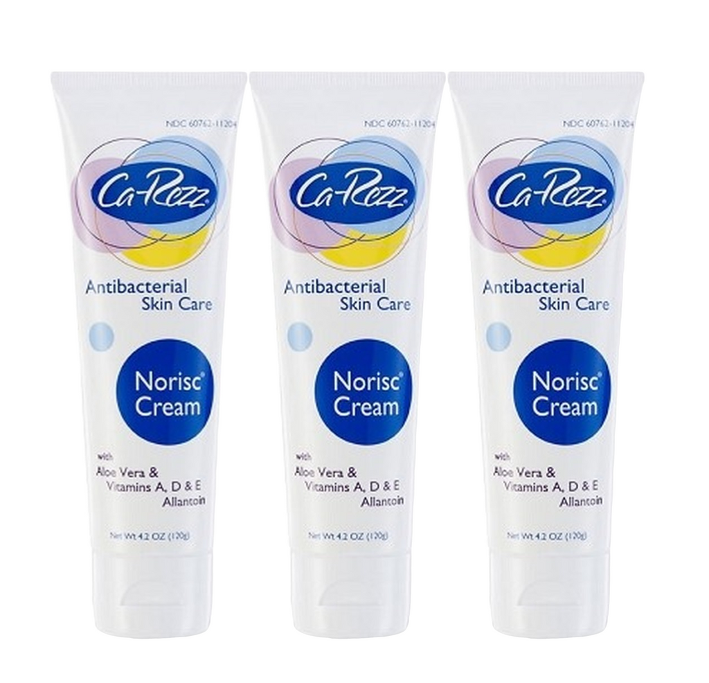 Ca Rezz Anti-Bacterial Lotion 4.2 oz Each Tube (3 Pack)