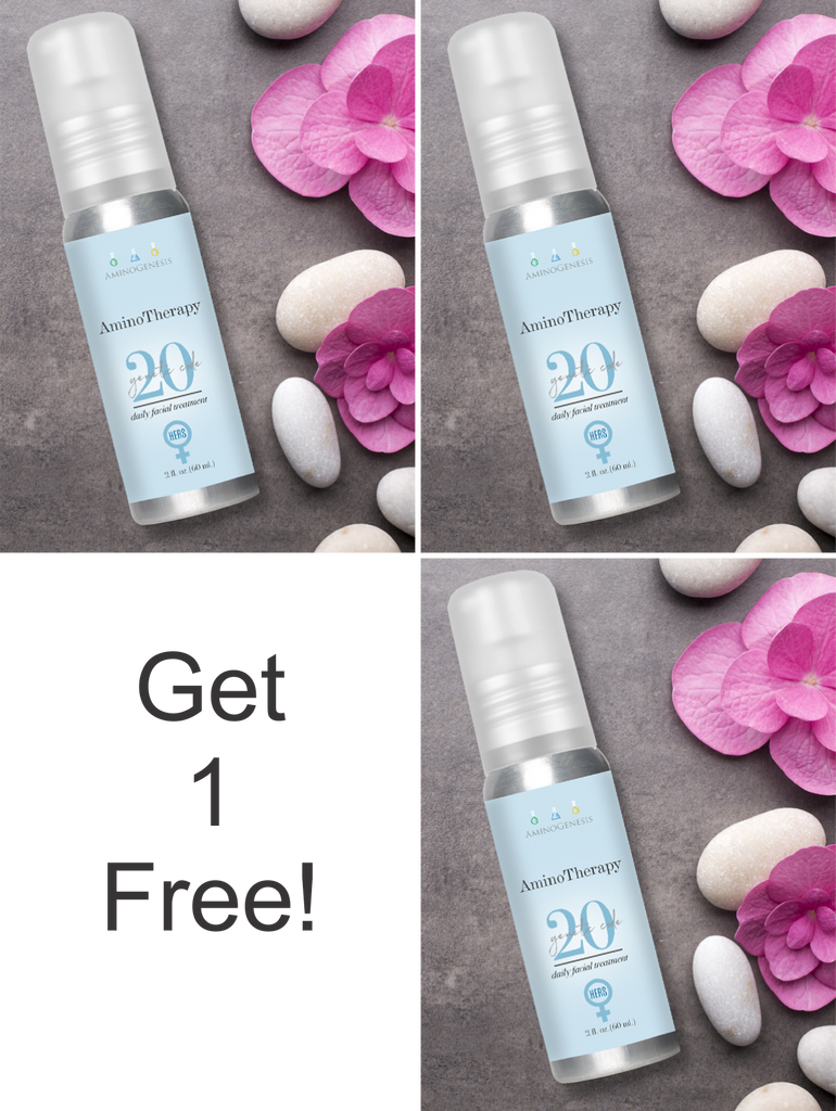AminoTherapy Daily Facial Treatment Genetic 20 For Her 2 oz  Buy 2 Get 1 Free