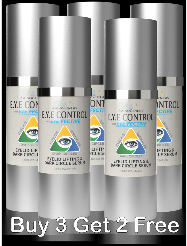 5 Bottles Of Eye Control