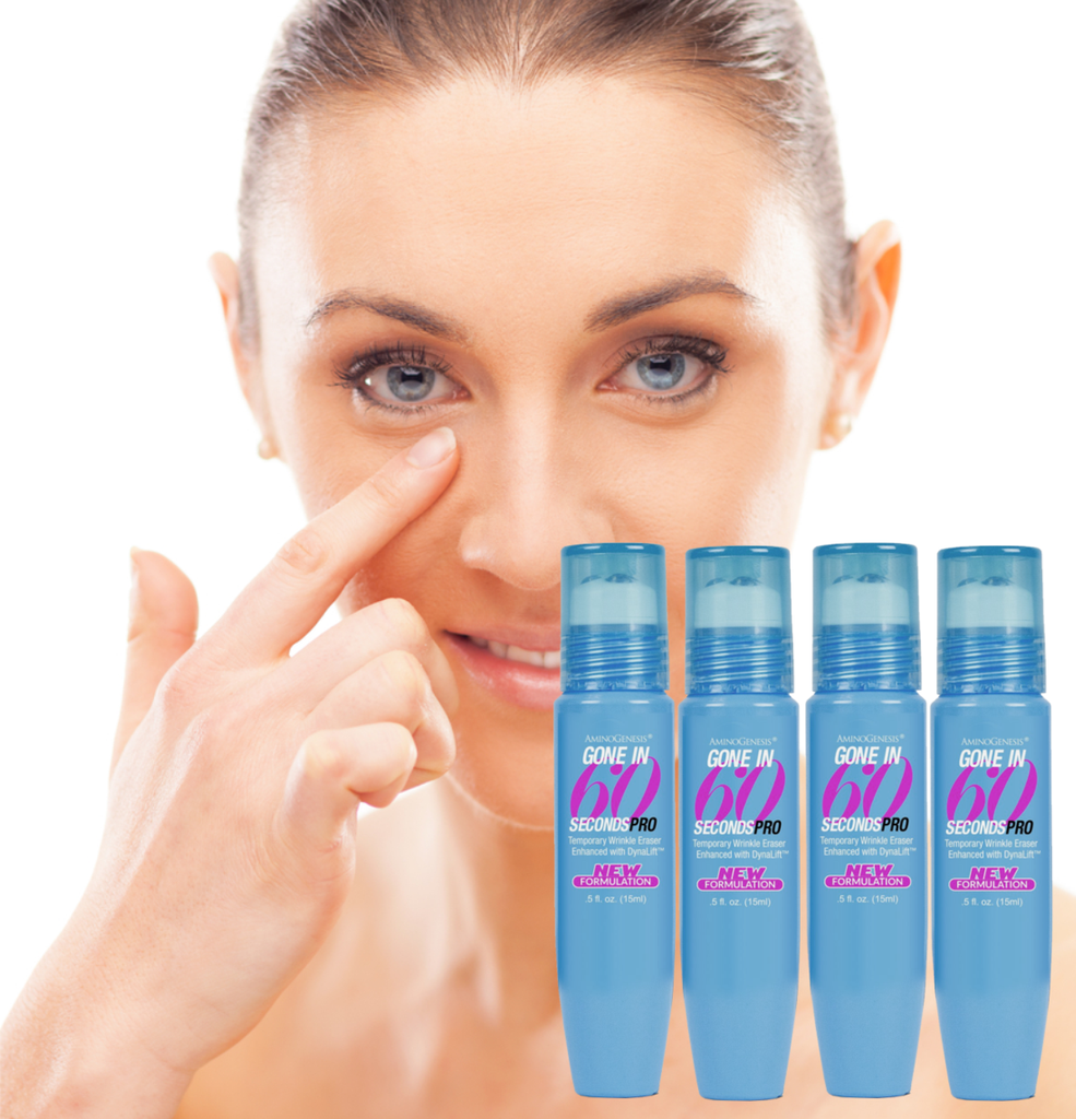 Gone in Sixty Seconds Pro: Instant Wrinkle Eraser .5 oz 4 Pack