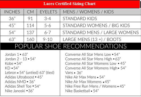 7d7e192e46   Sizing varies from shoe to shoe. Please use this chart as a rough  estimate ONLY. For best results