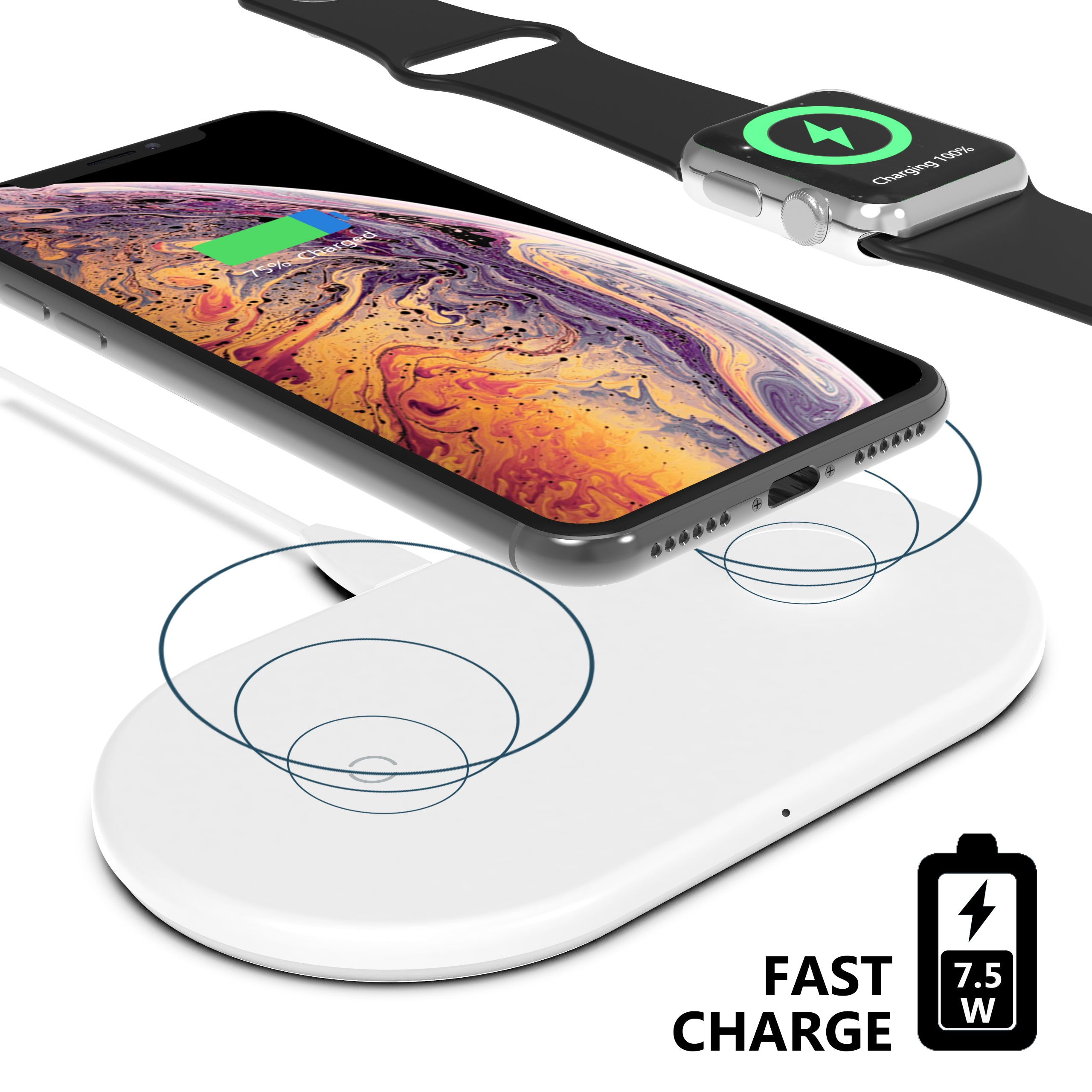 Apple & Watch Wireless Charger