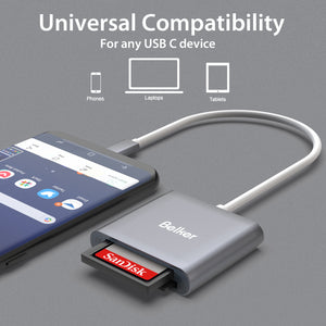 USB C CF/ TF /SD Reader Card