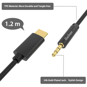 USB C to AUX Cable