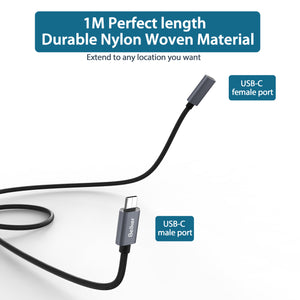 USB C Extension Cable-1 M