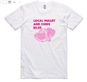 Local Mullet tee