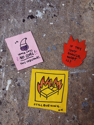 FIRE RELIEF - Stickers