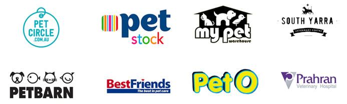 WAG Stockists include Pet Circle, Pet Stock, My Pet Warehouse, Pet Barn, Best Friends Pets Super Centres, PetO, Groceries and Vets
