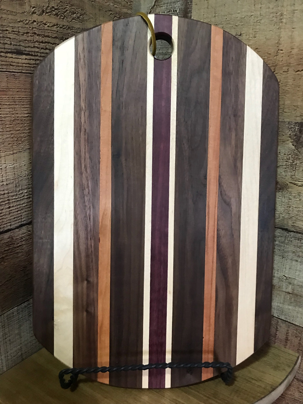 Esther - Mahogany, Walnut, Maple & Purple Heart