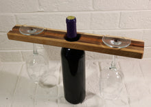 2- Glass & Wine Bottle Holder