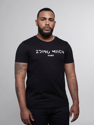 Black T-shirt Zdino Miich