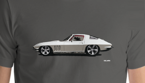 66 Corvette C2 White Fastback