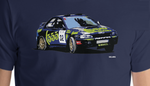 96 Subaru Impreza 555 Rally Car
