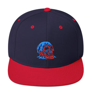 Oil on the Brain Snapback - 100 Miles Per Hour