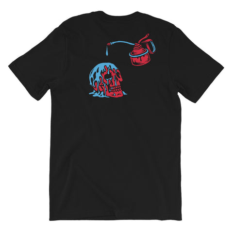 Hold Fast - Oil on the Brain Tee - 100 Miles Per Hour