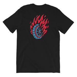 Flaming Fast Tee - 100 Miles Per Hour