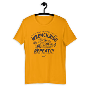 Wrench Ride Repeat Tee