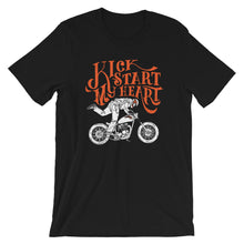 Load image into Gallery viewer, Kickstart My Heart Tee - 100 Miles Per Hour