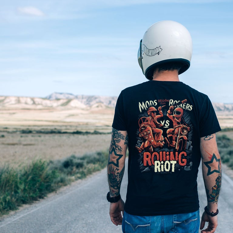 Rolling Riot Tee - 100 Miles Per Hour