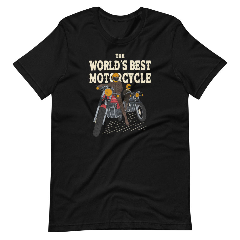 World's Best Motorcycle t-shirt