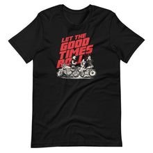 Load image into Gallery viewer, Let the Good Times Roll t-shirt
