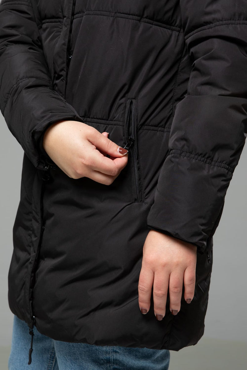 Blanche Puffy Long Jacket Womens