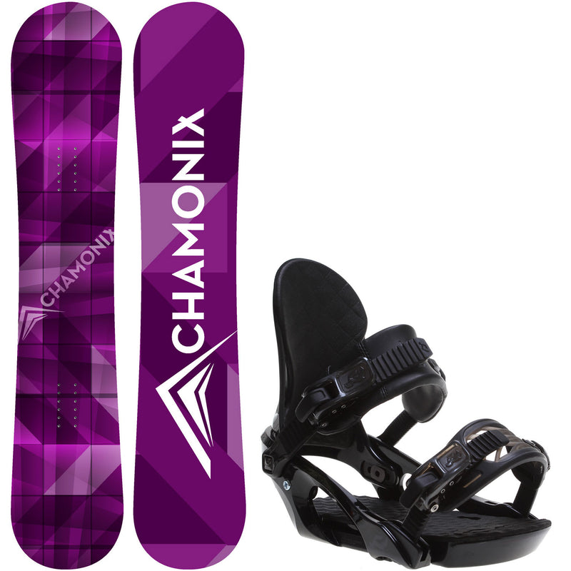 Frost 154cm Womens Snowboard + Ride LXH Bindings