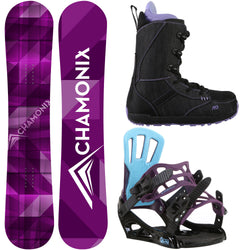 Frost 151cm Womens Snowboard + Rossignol Myth Bindings + M3 Boots