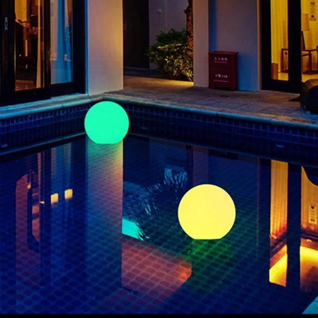 High Solar Powered Rechargable LED Ball Lamp for Pool Parties and Outdoor Decorations - EliteOfferingsNow.com