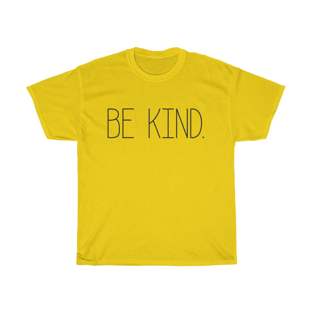Unisex BE KIND Heavy Cotton Tee